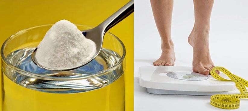 Perder peso con bicarbonato de sodio