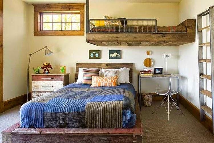 diseños rústicos de habitaciones para inspirarte
