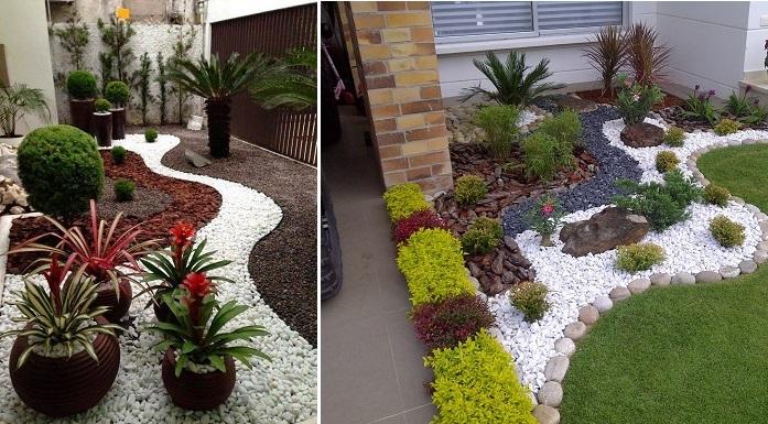 Superior Latest Como Hacer Un Jardin Con Piedras With Como Hacer Un Jardin Con  Piedras.