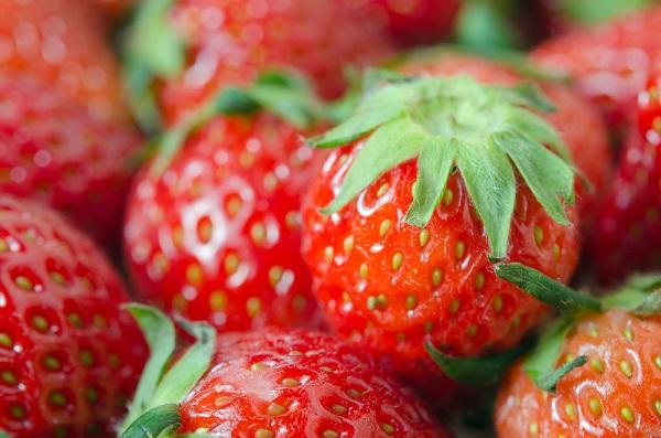 fresas ricas en colágeno
