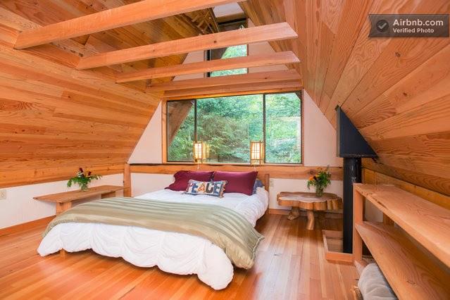 Arquitectura japonesa en casa de la selva