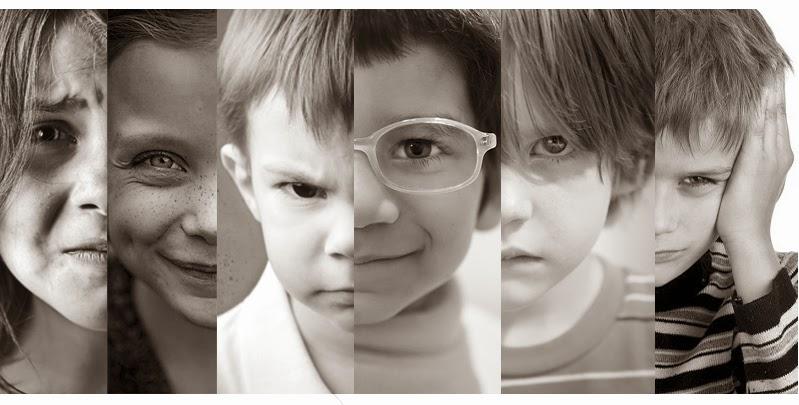 Diferentes temperamentos en los niños