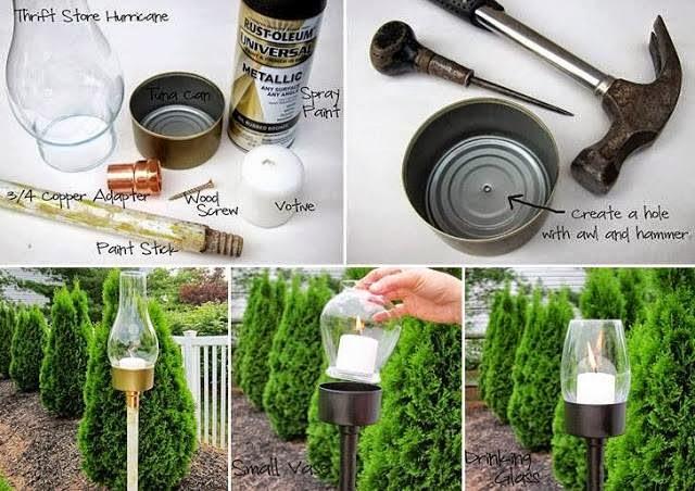 20 ideas para reciclar que te pueden dar dinero for Decorar el jardin con cosas recicladas