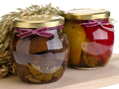 conservar alimentos en botes de vidrio