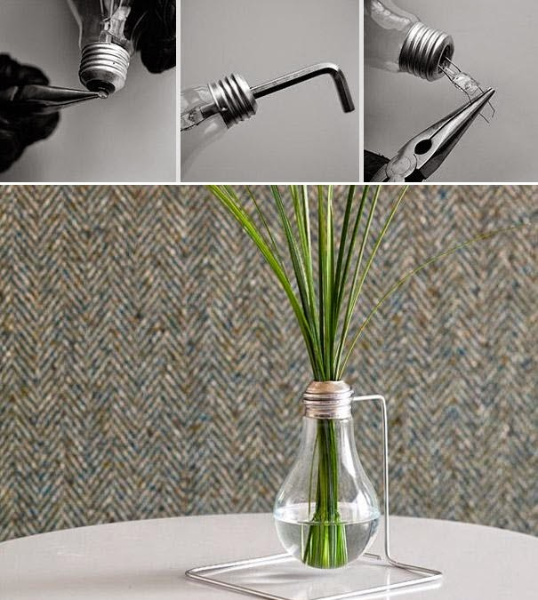 ideas para reciclar focos