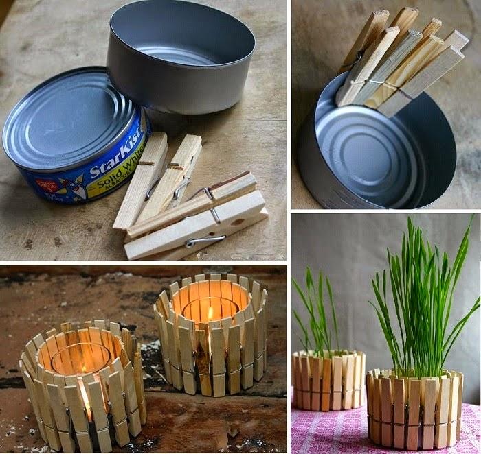 ideas para reciclar latas ed atún