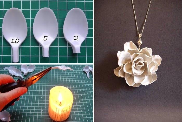 ideas para reciclar cucharas