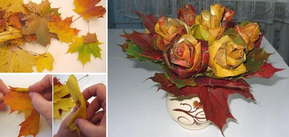 ideas para reciclar hojas