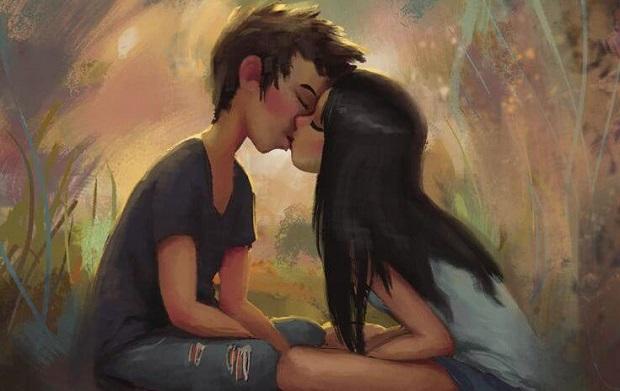 pareja-besándose-con-amor