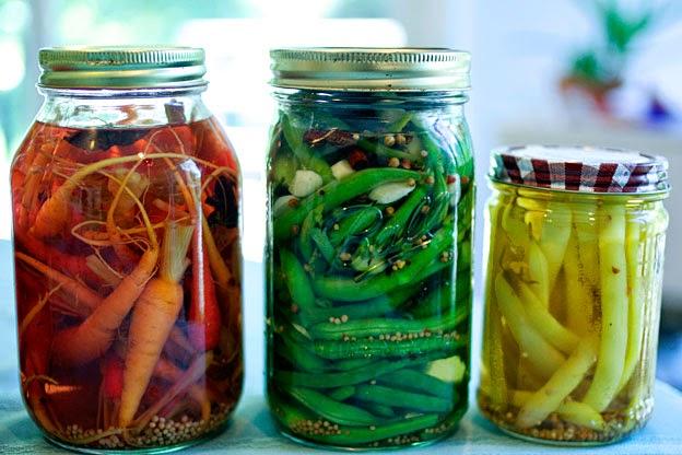 Frascos de vidrio para conservar alimentos