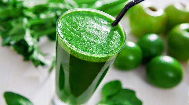 vegetales de hoja verde para laxar