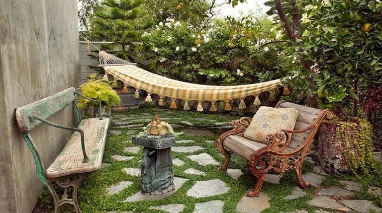 Image gallery jardines de casas rusticas - Patios de casas rusticas ...