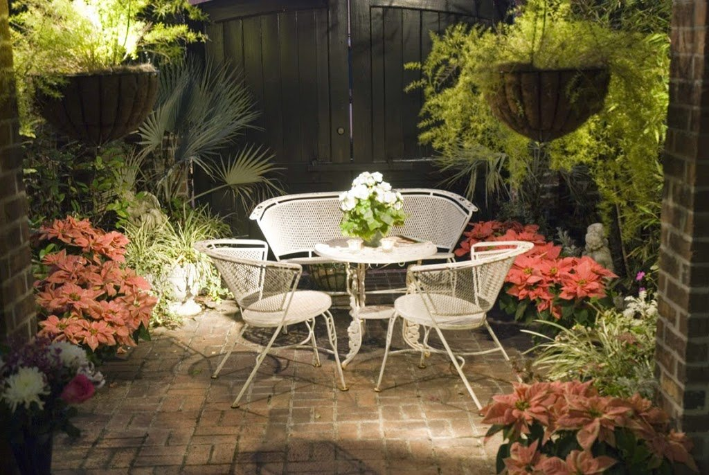 25 ideas de dise os r sticos para decorar el patio for Small space backyard ideas