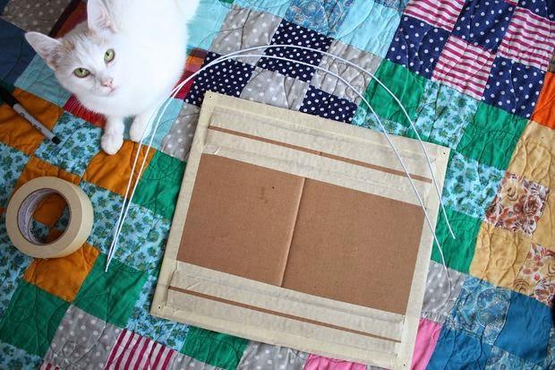 guarida para gatos materiales