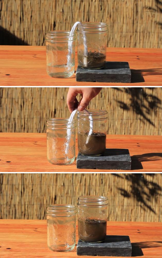 Consejos de supervivencia número 2 - aprendiendo a depurar el agua