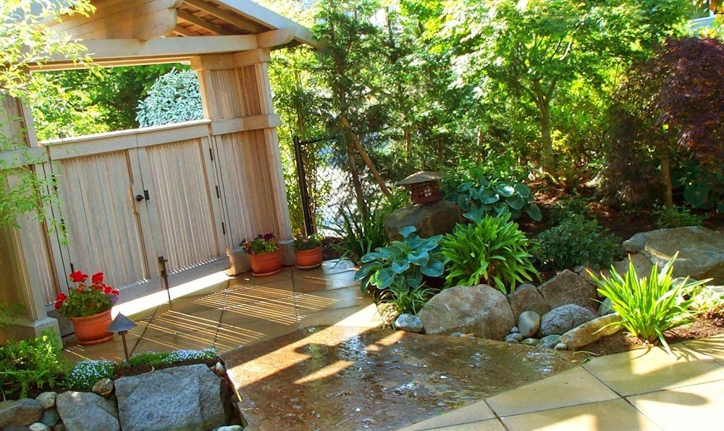 25 ideas de dise os r sticos para decorar el patio Beautiful garden patio designs