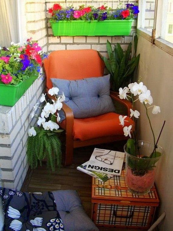 30 ideas para decorar el balc n de tu casa for Como decorar el patio de tu casa