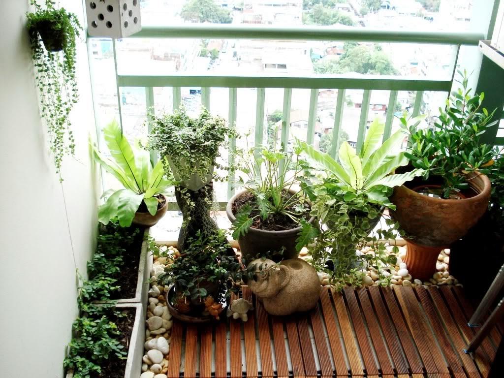 30 ideas para decorar el balc n de tu casa for Ver jardines decorados
