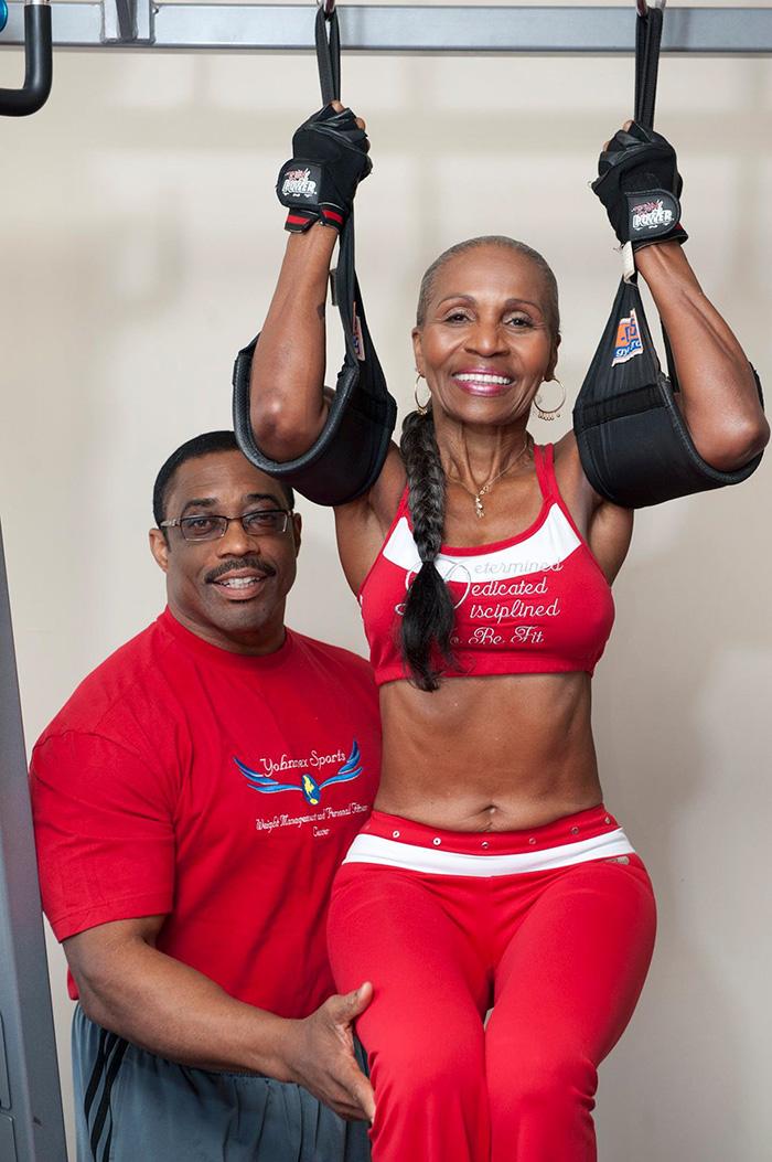 Ernestine Shepherd fitness