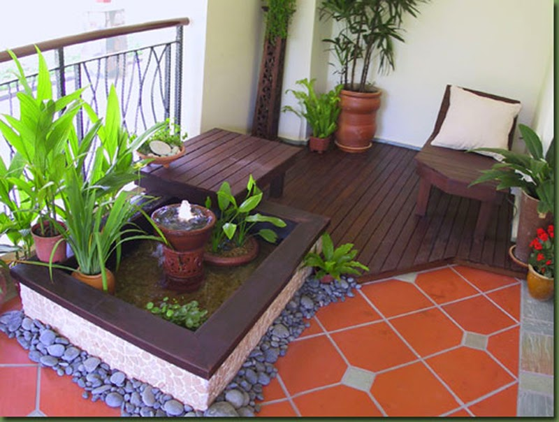30 ideas para decorar el balc n de tu casa for Ideas y estilo en jardines