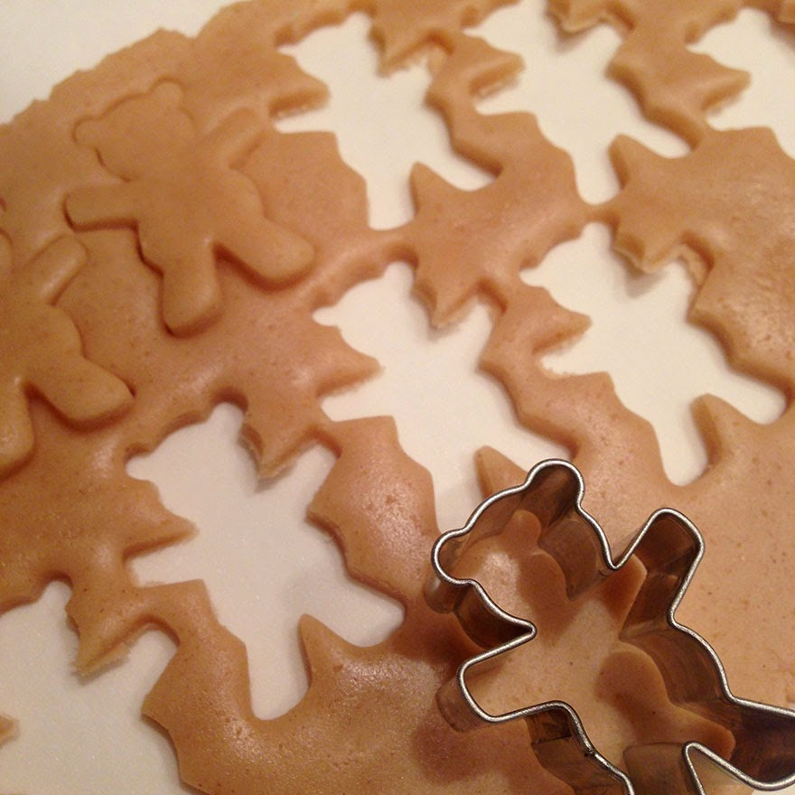 Molde para cortar las galletas