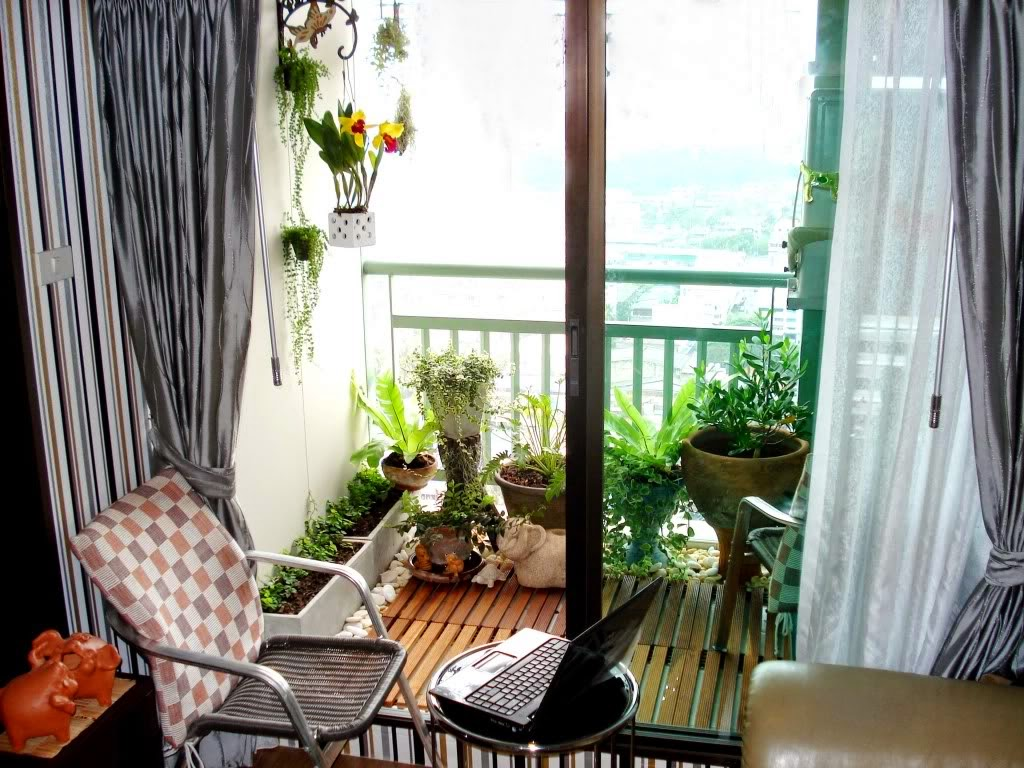 30 ideas para decorar el balc n de tu casa for Muebles para balcon modernos