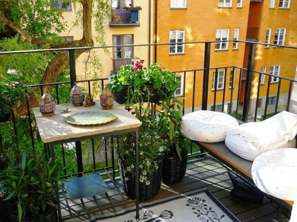 30 ideas para decorar el balc n de tu casa - Decoracion balcones ...