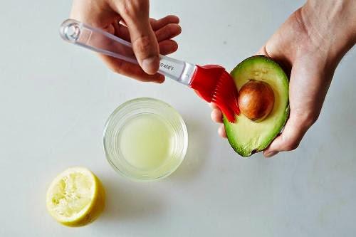 evitar que los aguacates se oxiden limón