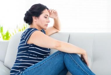 Mujer ansiosa