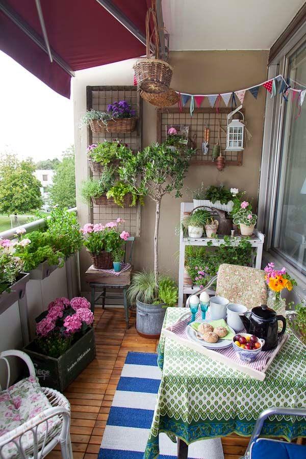 decorar tu terraza o balcón