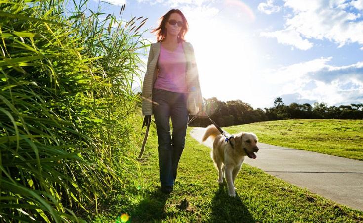 desintoxicación mental y física caminando
