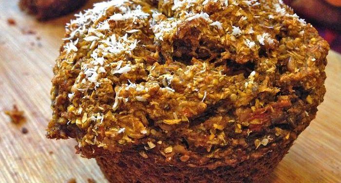 Prepara unos deliciosos muffins de avena y chía
