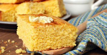 pan de maíz y calabaza
