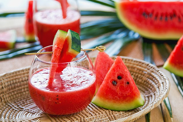 agua de sandía para desintoxicar riñones
