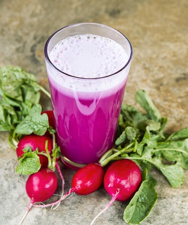 jugo de rábano para desintoxicar riñones