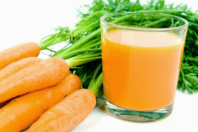 desintoxicar los riñones jugo de zanahoria