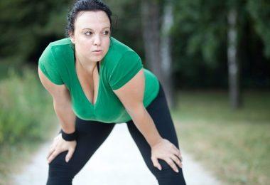 Mujer gorda ejercicio1