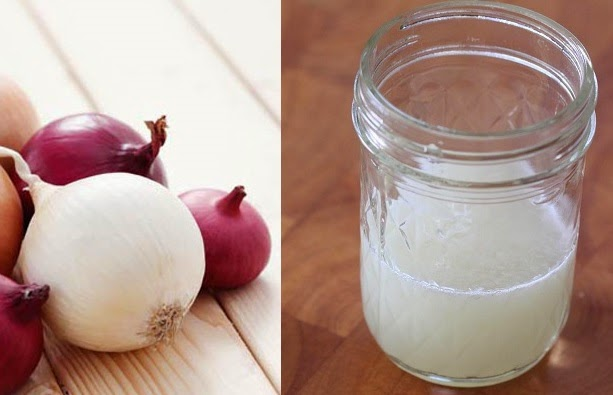 raw onion juice how to make