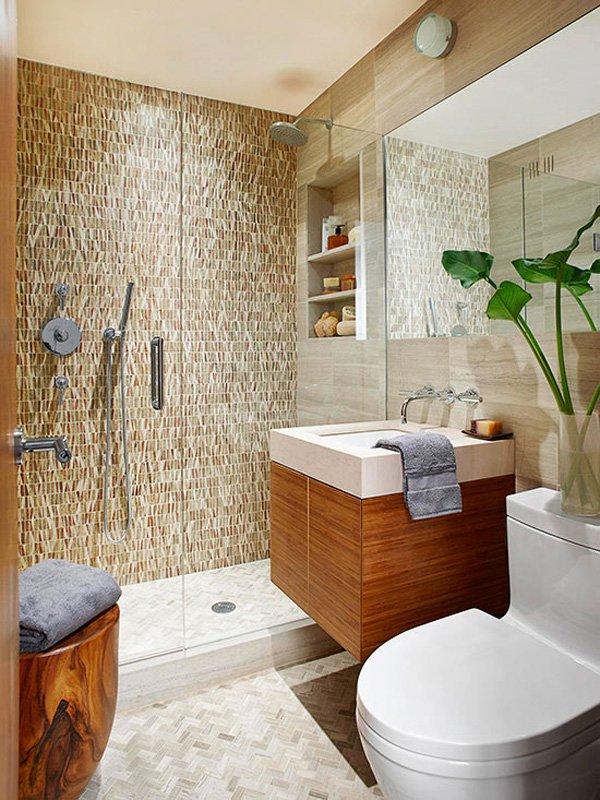 decorar un baño con ducha