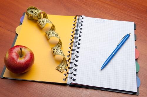 diario dieta para perder peso
