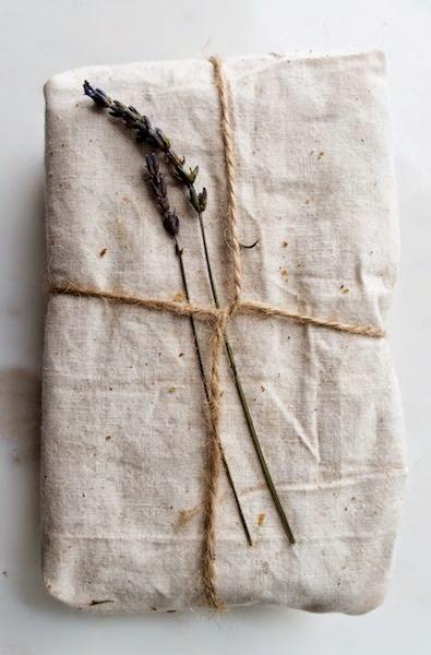 decorado de regalos con telas de algodón
