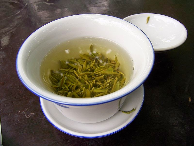 China - Chengdu 22 - green tea