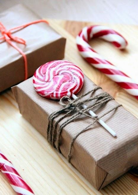 decorar regalos con dulces