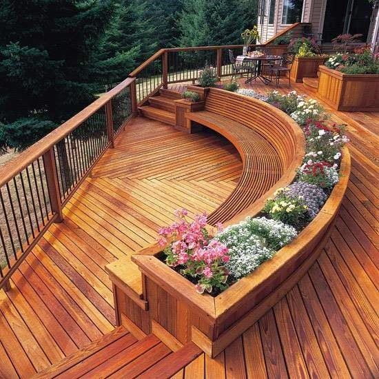 The Simple Ideas To Create A Small And Beautiful House: 5 Claves Para Diseñar Un Deck