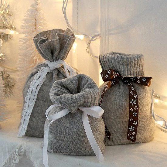 regalos con reciclado de ropa