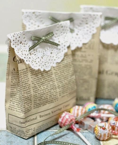 decorar tus regalos con revistas