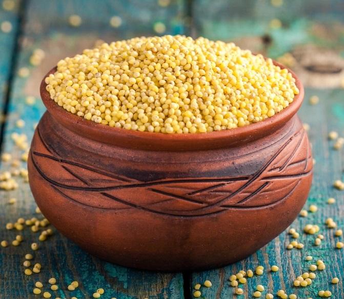 granos sin gluten como el mijo