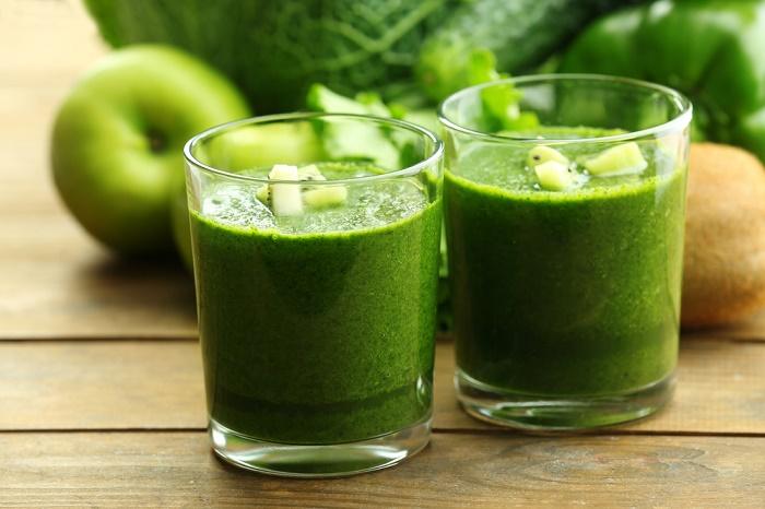 2 Jugos verdes que ayudan a bajar de peso