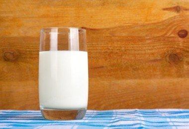 Vaso con leche
