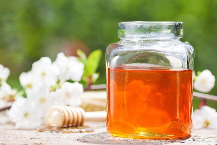 peeling con miel